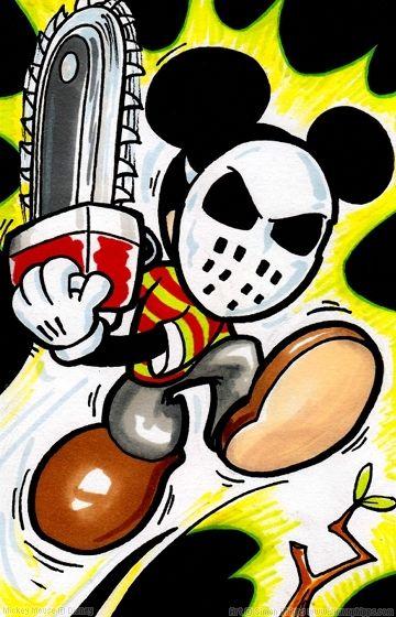 Chainsaw Mickey
