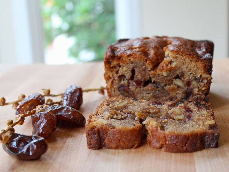 Delicious recipe for Date Honey Nut Cake, a moist dairy-free cake bursting with…