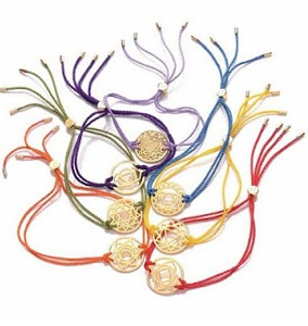 Chakra bracelets! Available at the Ritz Spa
