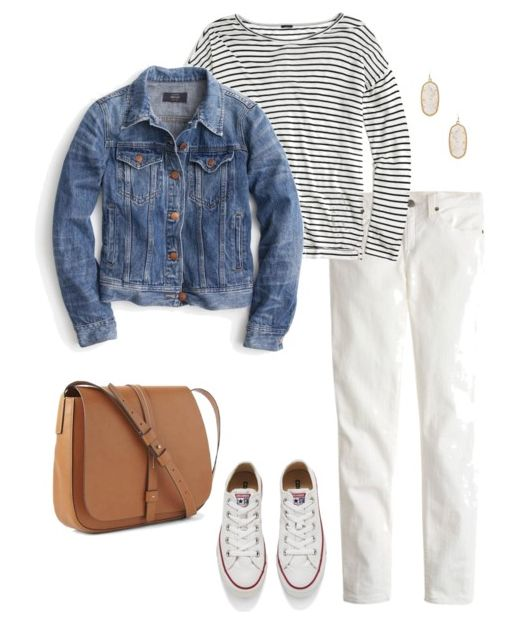 Are you looking for an outfit that's all about comfort and style? These 5 spring and summer sneaker outfits are perfect for those oh so casual days.