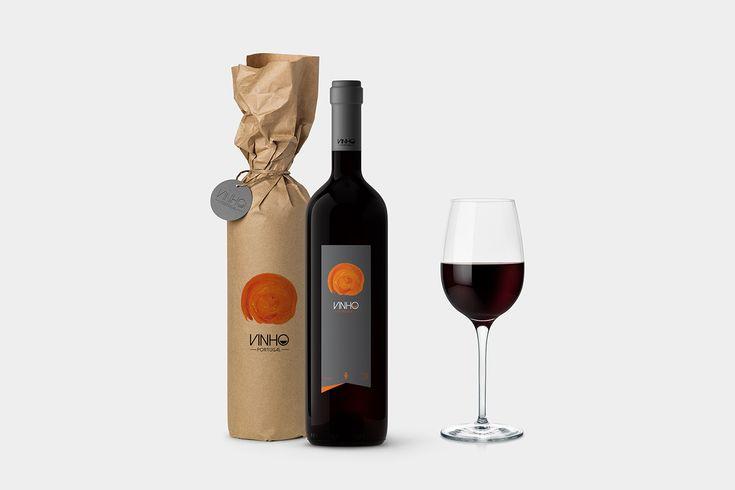 Vinho on Behance
