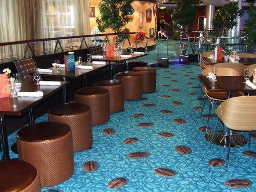 Blue Lagoon Restaurant on the Norwegian Pearl