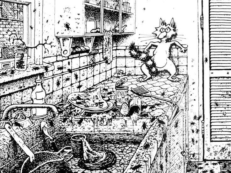 Bill's Backgrounds: Fat Freddy's Cat