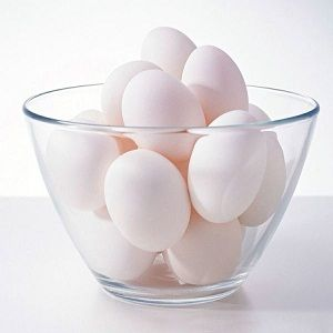 Eggs are a great source of many nutrients, including iron. Just make sure they are well-cooked.