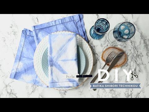 DIY: Batika za studena technikou shibori - Westwing magazín