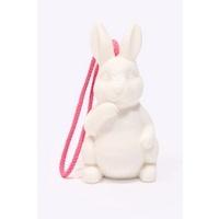 Bunny Soap.Rabbit Accessories, Ceramics Rabbit