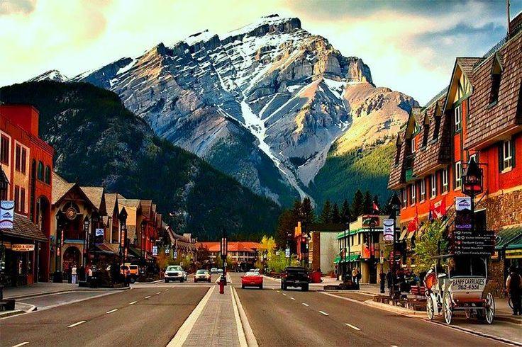 Car journeys Canada: Alberta, Canada   Австомобільні мандрівки Канадою: Альберта, Канада