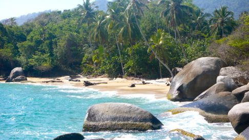 Tayrona National Park, Colombia. Jurassic Park without Rex :-)