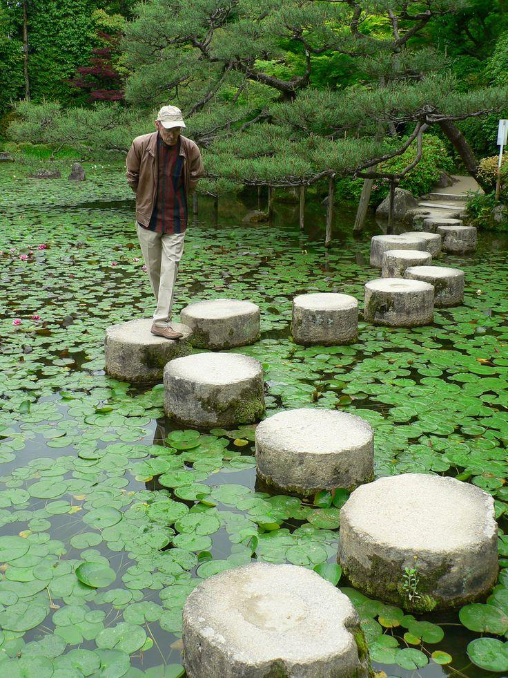 Toursgallery guest in Heian Jingu Shrine Garden, Kyoto  www.toursgallery.com