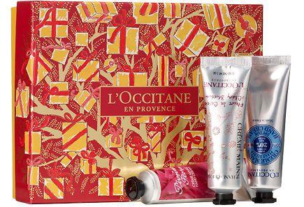Loccitane - L'Occitane en Provence Hand Cream Trio Collection -kolmen käsivoiteen lahjapakkaus 3x30ml.