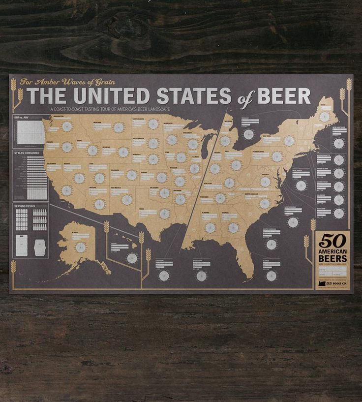 Best 25 american beer ideas on pinterest beer bar porter beer american beer tasting map gumiabroncs Gallery