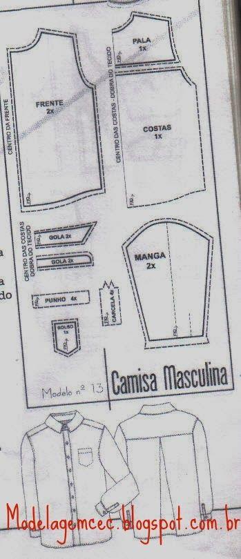 CAMISA MEDIDAS
