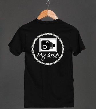 Speed cameras - my arse!  skreened.com/bikergear T-shirts $23.99 / hoodies $40.99  http://bad-press.co.uk/support-your-local-small-press/bikergear-t-shirts/