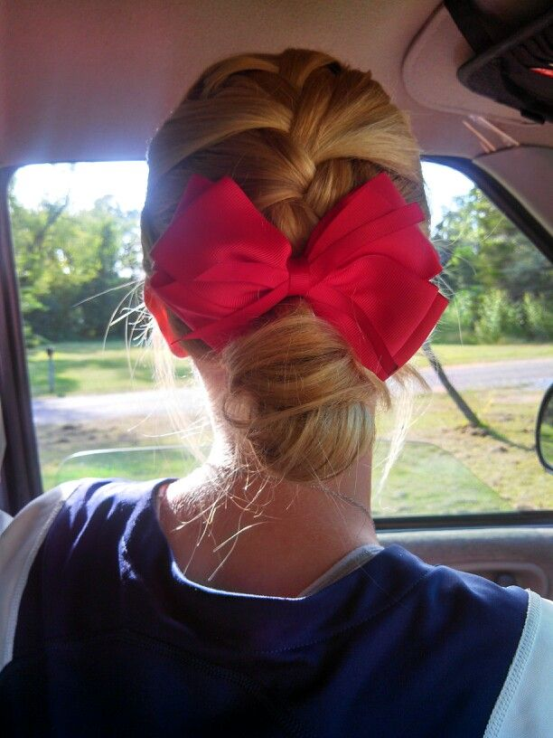Softball hair <3