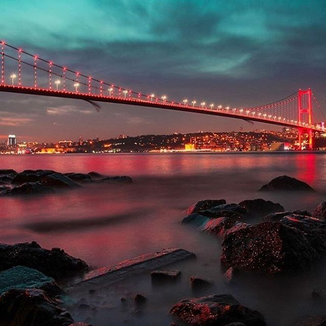 The bosphorus bridge  #travel #photography #istanbul #istanbultouristpass #turkey #bridge #trip #vacation # The bosphorus bridge  #travel #photography #istanbultouristpass #turkey #bridge #trip #vacation #