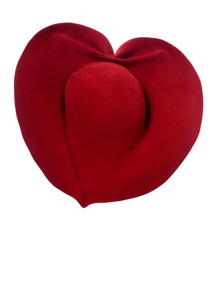valentijn - valentine - hat - hoed - chapeau - red - www.awardt.be