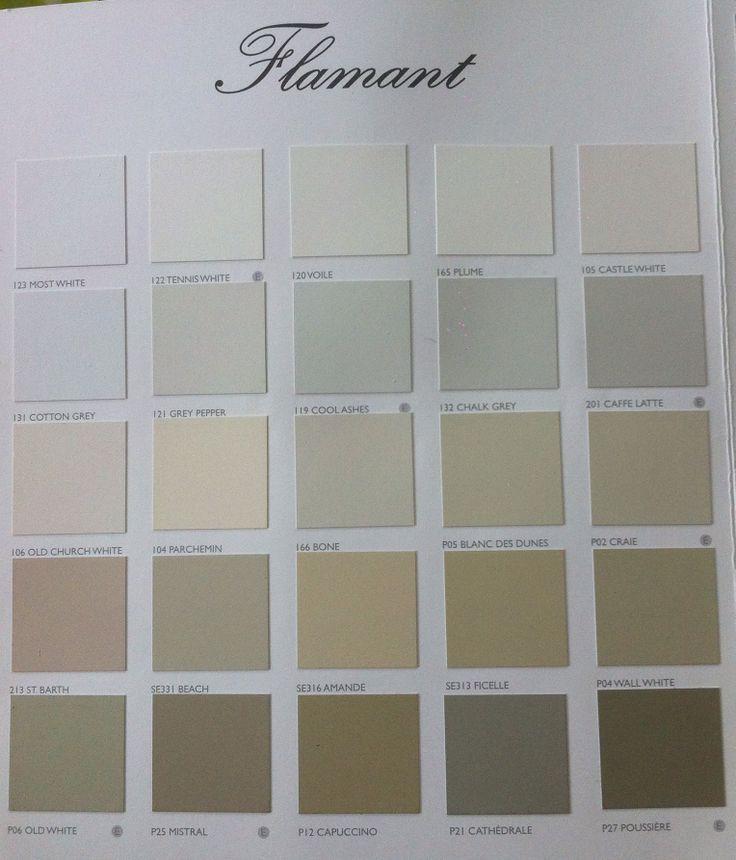 Nuancier flamant colors pinterest - Palette de couleur peinture interieur ...