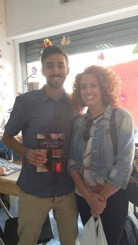 Firma de Libros en la Librería Centro de Candelaria (Tenerife)