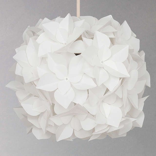 BuyJohn Lewis Lotus Easy-to-Fit Flower Pendant Shade Online at johnlewis.com