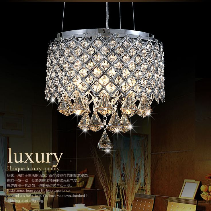 2013 New Pendant Lights  Modern Crystal Lamp Dining room indoor lighting Guranteed 100% -in Pendant Lights from Lights  Lighting on Aliexpr...