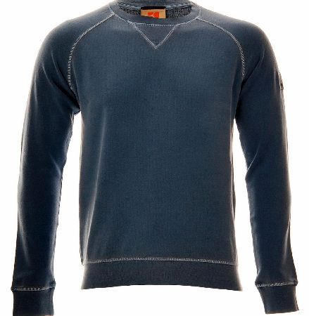 Hugo Boss Wheel Sweatshirt Blue Hugo Boss Wheel Sweatshirt Blue is a Urban sweatshirt from BOSS Orange with a round neck and casual top stitching. The pure sweat cotton fabric features a toweling finish on the inside while the class http://www.comparestoreprices.co.uk/designer-sweatshirts/hugo-boss-wheel-sweatshirt-blue.asp