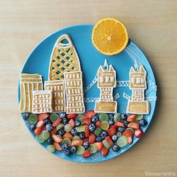 samantha lee's food art