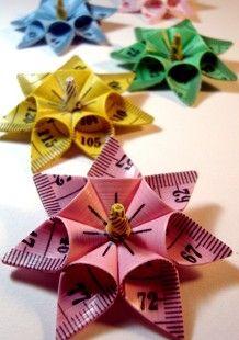 Measuring Tape Bows by Yasmin Ellis