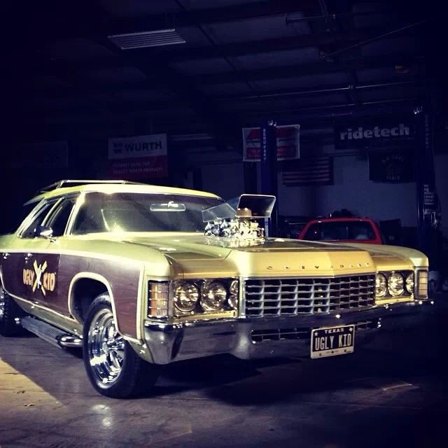 Gas Monkey Garage's 1971 Chevrolet Kingswood Estate