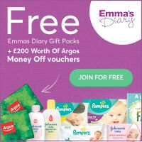 If you are a mum and not yet signed up to Emma's Diary Baby Club we would recommend doing so today.