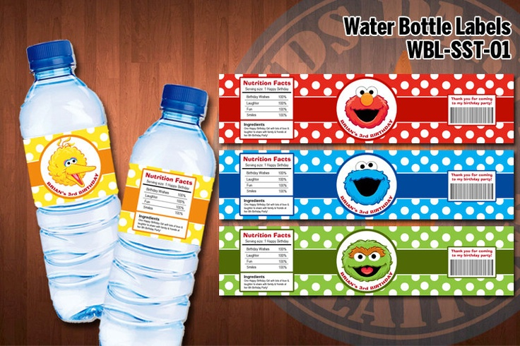 1000+ images about water bottle labels on Pinterest ...