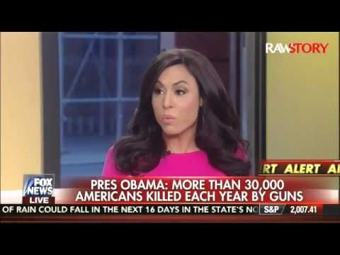 01-05-2016  Fox News Host Andrea Tantaros DEMOLISHES Obama's Crying Speech...HAHAHA YES!!!