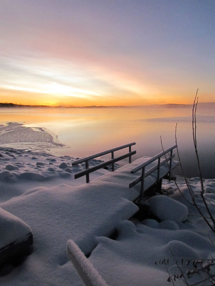 **Norrland, vinter, snö