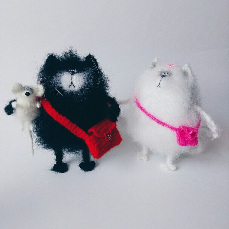 Inspired by SPLAT the cat and his cute friend Kitten by WhatMyToy on Etsy