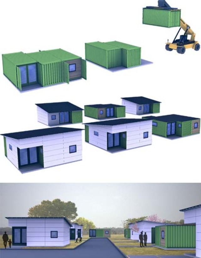 This Modern Low Cost Shipping Container House Design Takes Inspiration From High Places But At Just Container House Plans Container House Tiny House Design