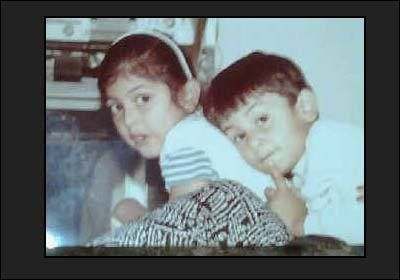 Young Ranbir Kapoor bonding with sister Riddhima