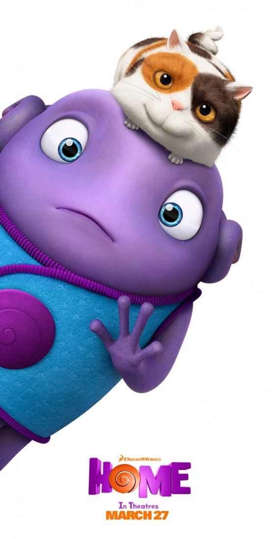 Oh is a loveable misfit that will warm you heart in the move Home. Sponsored by DreamWorks
