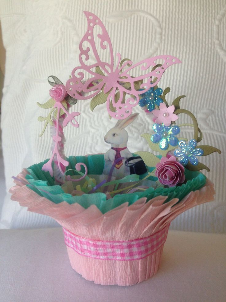 Handmade Easter Baskets Ideas : Images about handmade easter crafts on