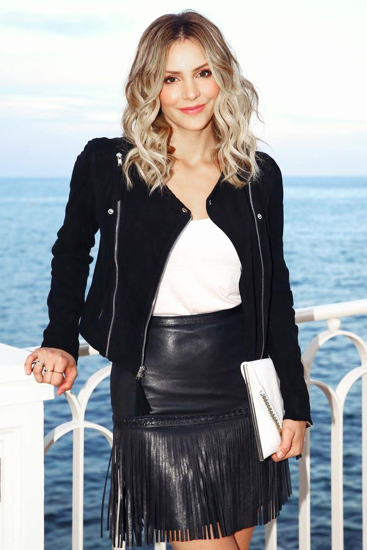 Katharine McPhee attends TV Series Party | Trends - Leather Skirts ...