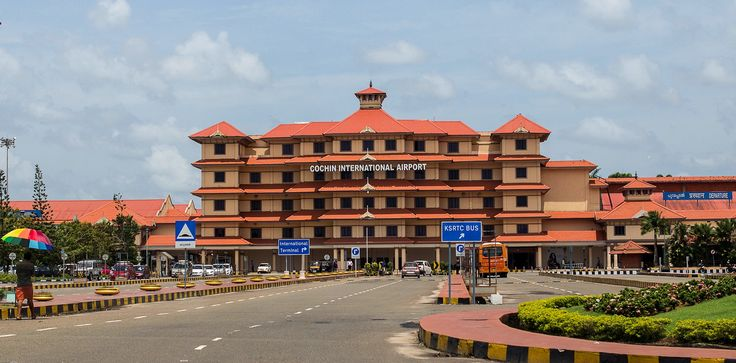 Cochin International Airport is an international #airport situated in the city of #Kochi, in the state of #Kerala, India. Located at Nedumbassery, about 28 km northeast of Kochi, it is the busiest and largest airport in the state of Kerala. #travel #trip #terminal