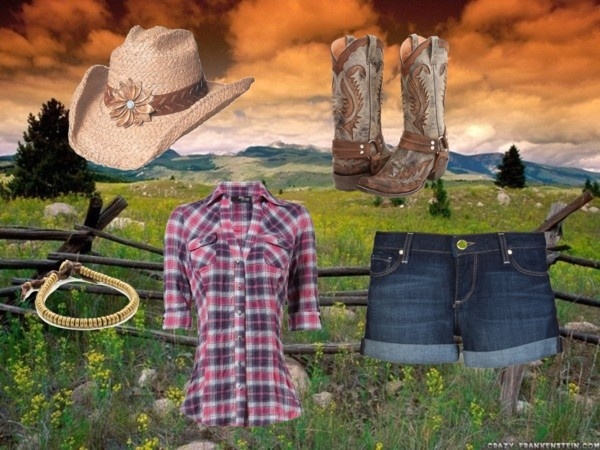 I feel like I've seen this outfit on Heartland (though Amy never wears shorts, always jeans). Which is my all time favorite TV show. If I ever wanted to be a character in my life it would be Amy Fleming. LOVE IT!!