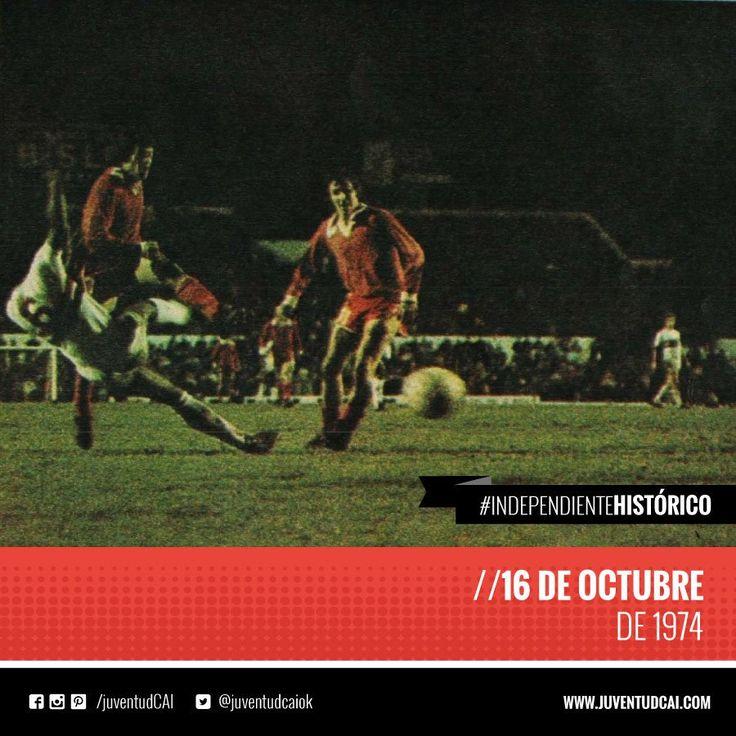#IndependienteHistorico #Independiente derrota a San Pablo por 2-0. Goles de Bochini y Balbuena. Segunda final. Libertadores. Avellaneda.
