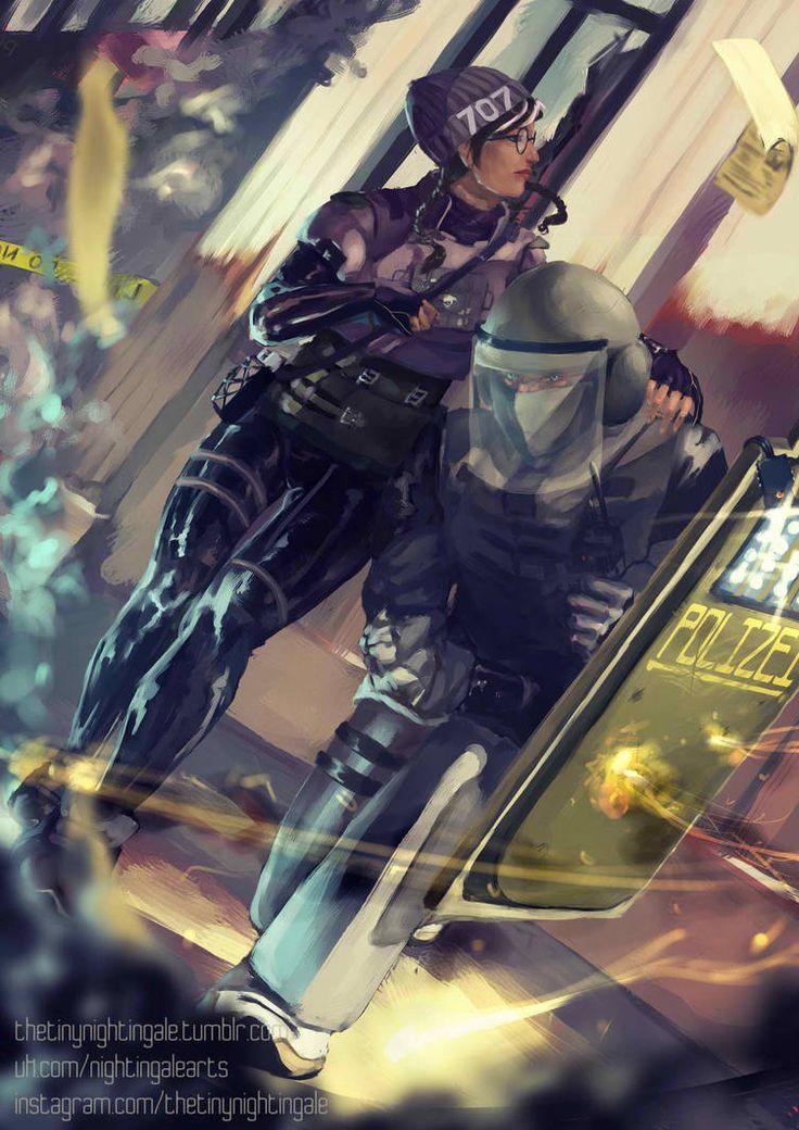 EDICH-arts DeviantArt Gallery | Rainbow six siege twitch