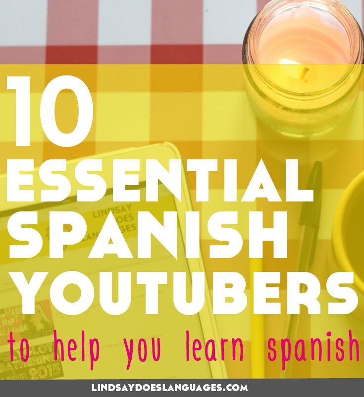 YouTube is packed with videos to get you practising Spanish. Here's 10 of our favourite Spanish YouTubers to help you learn Spanish. Click through to read more!