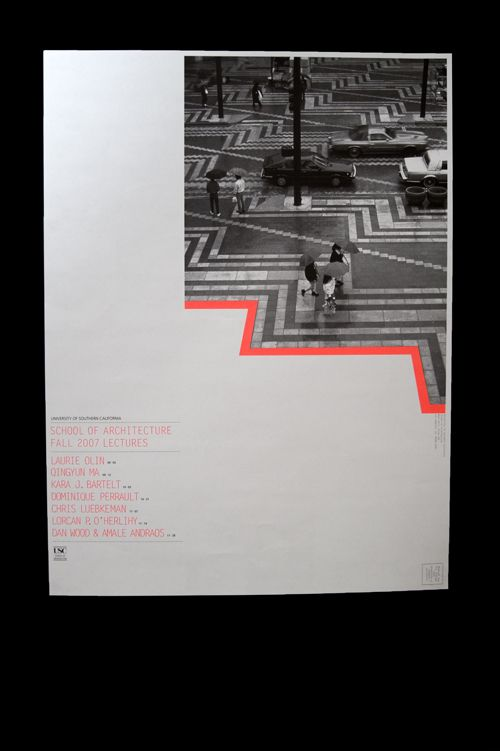 usc arch lecture poster series