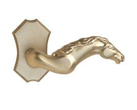 Telluride Lever H Rose H Contemporary, MidCentury Modern, Rustic Folk, Southwestern, Transitional, Metal, Lever by Baltica
