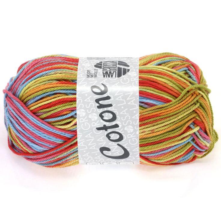 COTONE print 303-orange / coral / mint / pale green | EAN: 4033493134491