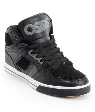 Osiris NYC 83 Black, Charcoal, & White Skate Shoe at Zumiez : PDP