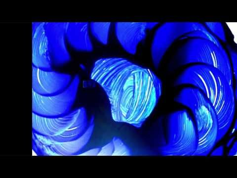 Lapis Lazuli and Muller on Glass - YouTube