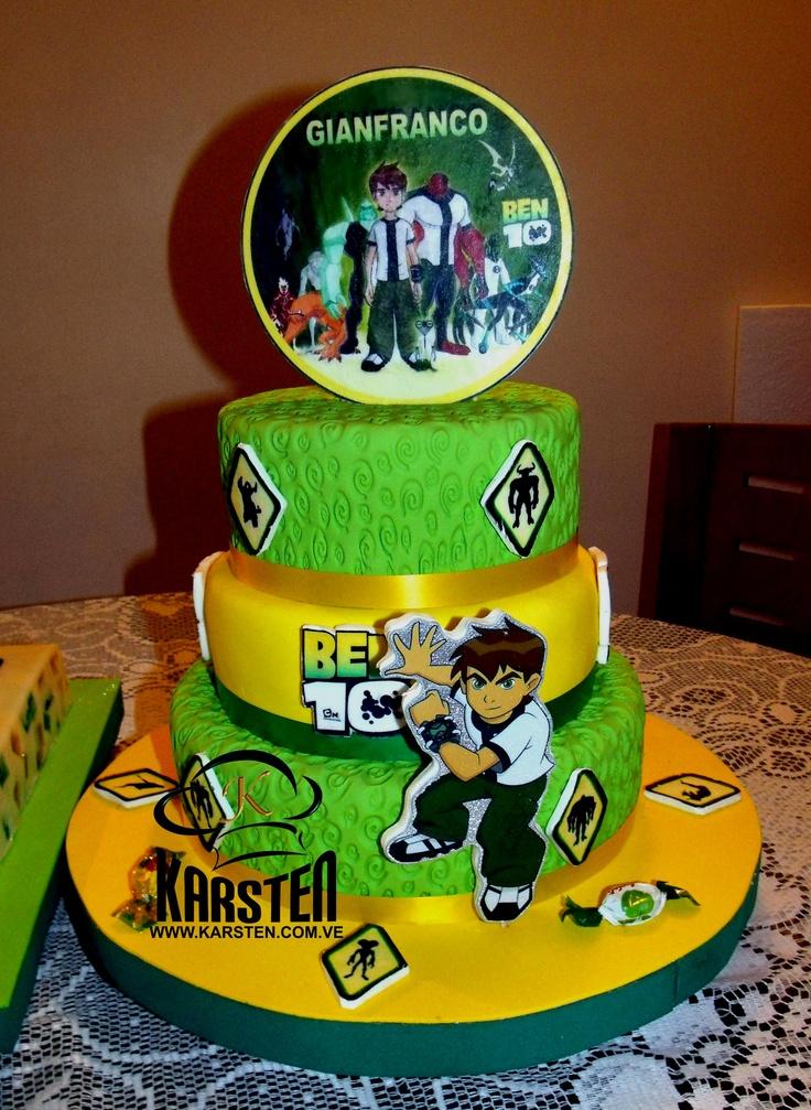 Torta de Ben 10: De Cumpleaño, Cumpleaño Boys, Torta De Ben 10
