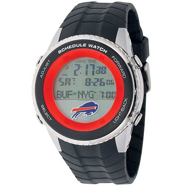 Officially licensed Buffalo Bills NFL football watch.